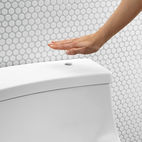 San Souci with Touchless toilet technology