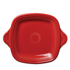 Fiestaware square-handled serving tray