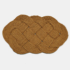 modern made in america products USA southeast sailor craft knots rope braided doormat