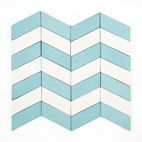 Long Chevron Waves tile