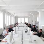 Employees at Thomas Phifer studio in west SoHo