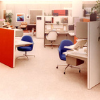 Action Office II by Robert Propst for Herman Miller
