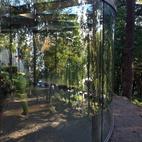 Glass sculpture in Ekeberg Sculpture Park in Oslo.