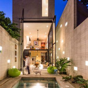 Raw House pool
