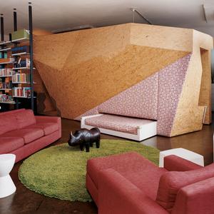 OSB interior brooklyn loft