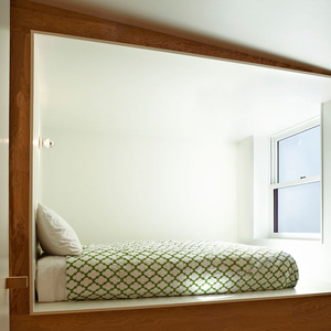 Compact sleeping berth