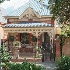 Traditional Victorian facade in Australia
