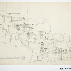 Bubeshko Apartments early blueprints archival document