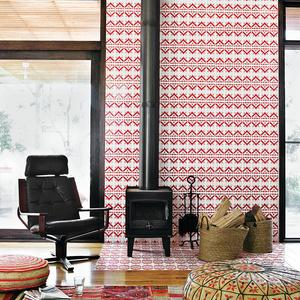 modular beachside getaway Australia living room