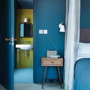 Lucy Marston house interior bedroom