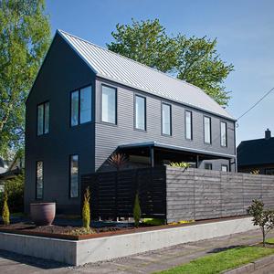 A gabled house in Portland, Oregon