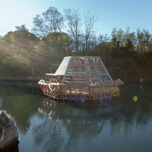 Jellyfish Barge Floating Greenhouse
