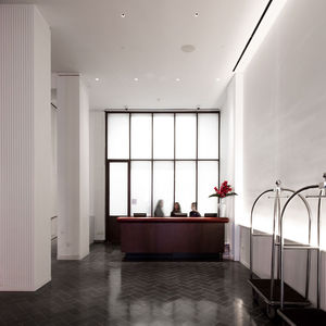 Annabelle Selldorf interior renovation Martha Washington Hotel in New York City NoMad District