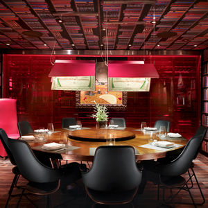 Las Vegas Jaleo's private dining room designed by the Rockwell Group.