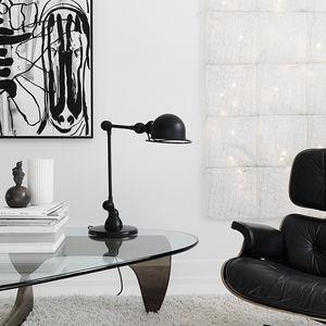 Vintage Herman Miller Chair and Isamu Nuguchi Table in Copenhagen Townhouse