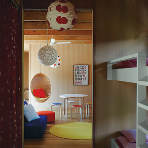 Australian kids' room and playspace with Aalto stools