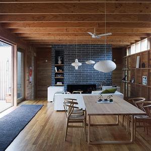 Australian living room with Scandinavian furniture