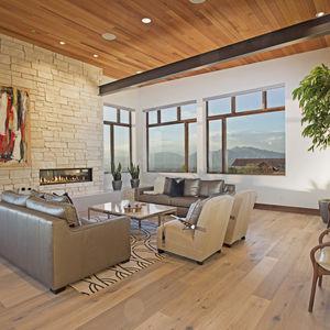 A modern mountain residence in Woodland Hills, Utah.