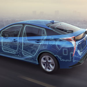 The updated body rigidity of the 2016 Toyota Prius improves handling performance.