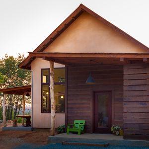Net-zero home in California with solar panels