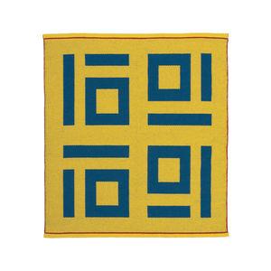 Four Tens Rug by Nancy Kennedy Designs, made in Eureka, California.