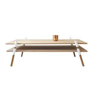 The 2-Tier Coffee Table by Yield Design, made in St. Augustine, Florida.