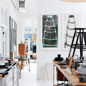 Art and kitchenware at March