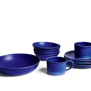 Christiane Perrochon's Blue Violet ceramics