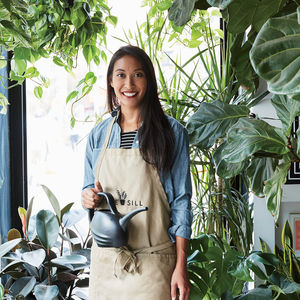 Manhattan plant store The Sill's founder Eliza Blank.