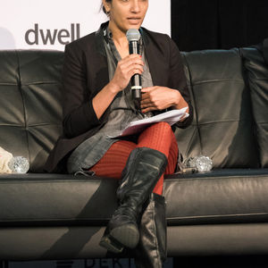 Ammr Vandal of nArchitects at Dwell on Design New York 2015.