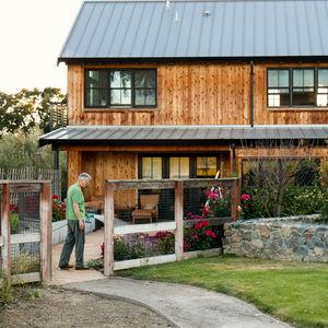 Indoor/outdoor home in Northern California