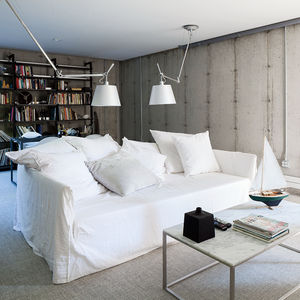 Upstate New York small sustainable retreat for Chilewich and Sultan basement
