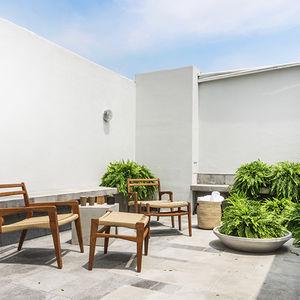 Furniture at Hotel Carlota in Mexico City by La Metropolitana