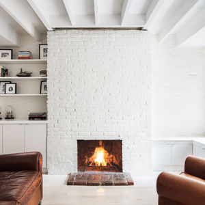 Myrtle apartment renovation living room