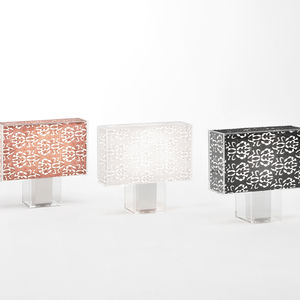 Kartell's Tatì lamp with a shade by N°21