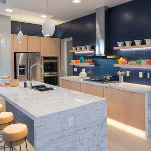 Millennial concept home with an open-plan kitchen