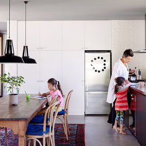 Kitchen and dining area in an Australian vacation home
