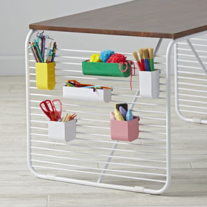 Linear play table by Eric Trine for Land of Nod