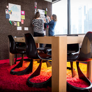 Office at an advertisement agency.