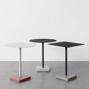 Terrazzo table by HAY