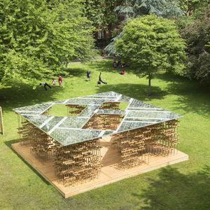 Triumph Pavilion in London's Museum Gardens