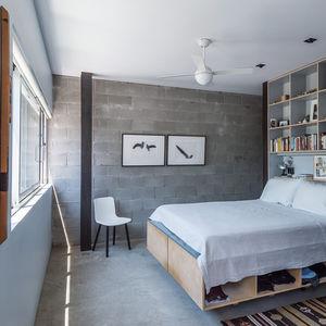 Baumann residence bedroom