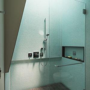 Baumann residence bathroom