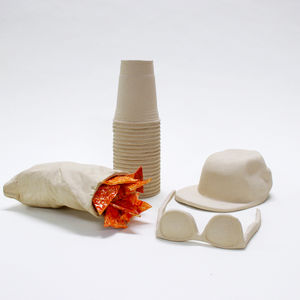 Wyatt Little Beach Stuff ceramics from the exhibition NYCxSkymall