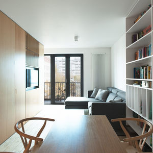 The Wood Box Apartment by Crosby Studios