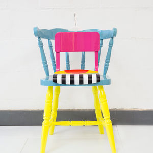 The A Trapped Star chair by Yinka Ilori
