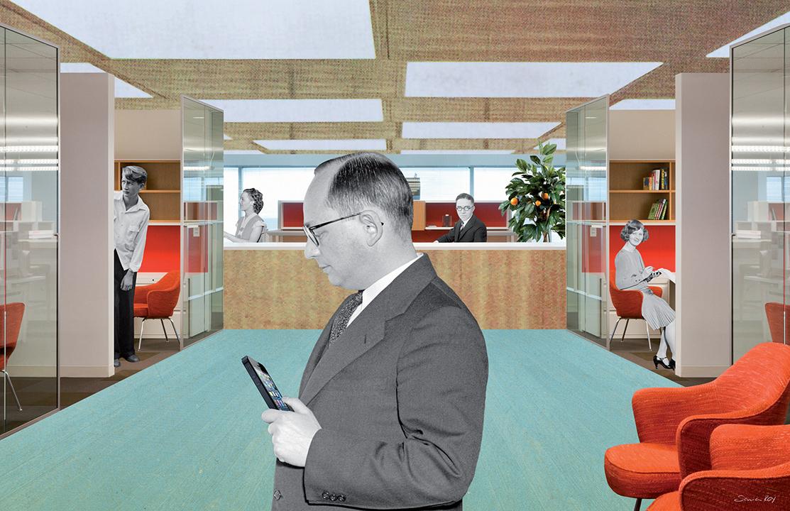 modern furniture design workplace office start-up
