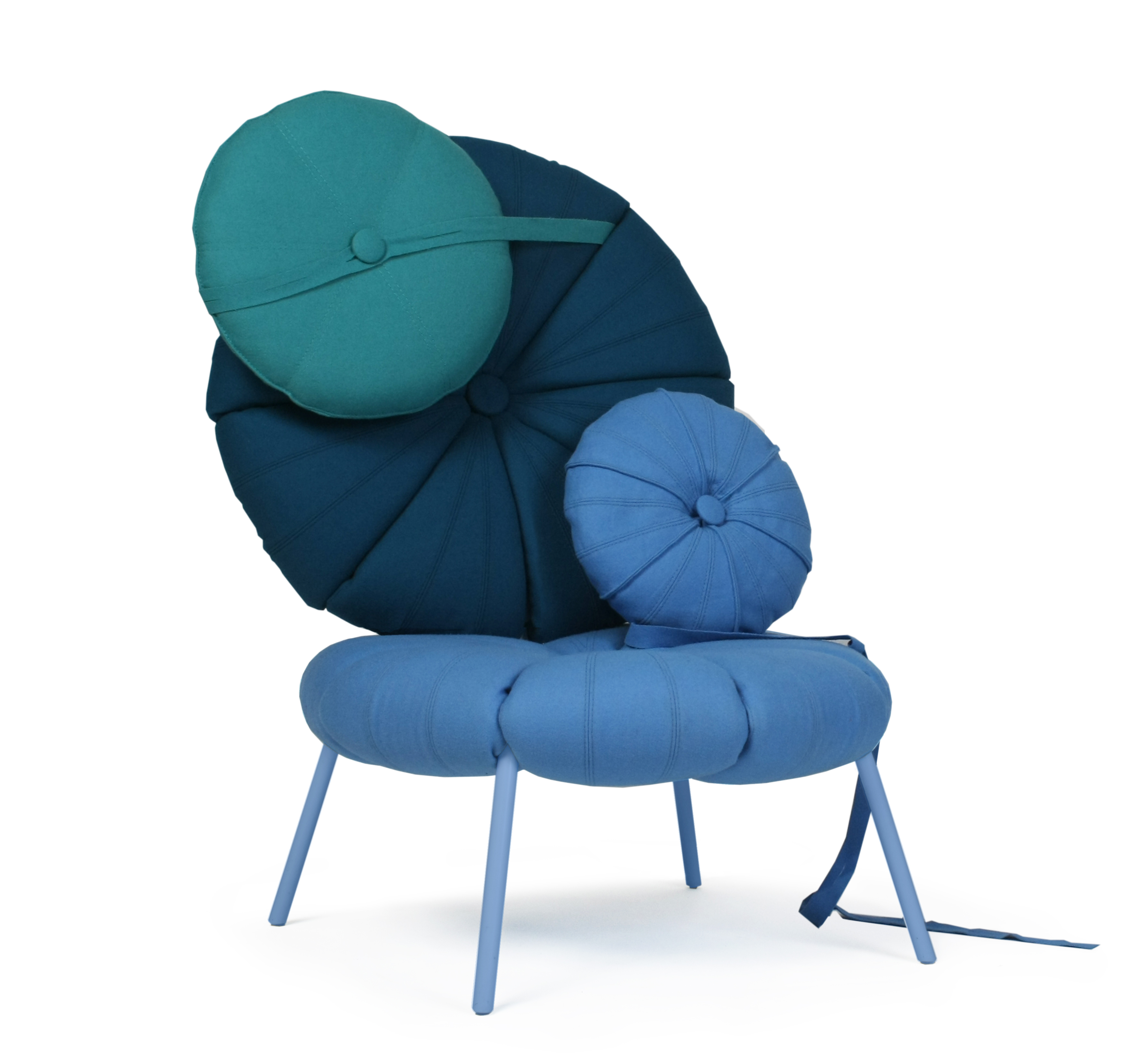 modern design young guns 2014 Karoline Fesser woonling collection chairs
