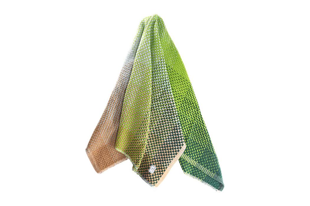 modern design young guns 2014 Simon Key Bertman textile throw gradient