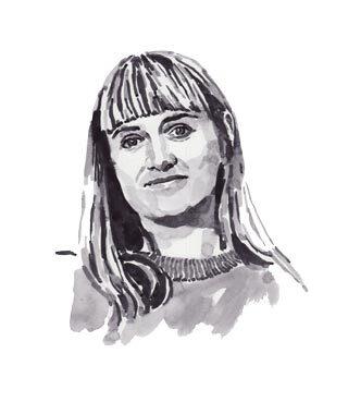 Illustration of Ellen Van Dusen